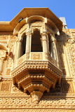 Fragment of beautiful ornamental building in india Royalty Free Stock Photo