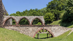 Fragment of the Bedzin Castle Royalty Free Stock Photos