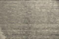 Fragment beige des abat-jour en métal Photos stock