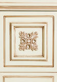 Fragment of beige wooden furniture Royalty Free Stock Photo