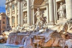 Trevi-Brunnen. Rom, Italien. Stockfotografie