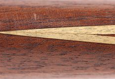 Fragment billiard cue. Stock Photography