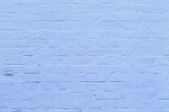 Fragment of blue brick wall Royalty Free Stock Images