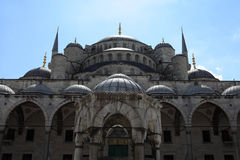 Fragment of Blue Mosque Royalty Free Stock Photo
