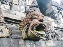 The fragment of Borobudur Temple, Central Java at Indonesia Royalty Free Stock Images
