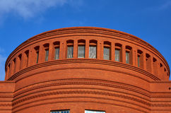 Fragment brick facades building Royalty Free Stock Image