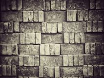 Fragment of a brick royalty free stock photo