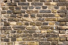 Fragment of a brick wall Stock Images