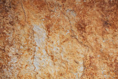 Fragment of brown stone Royalty Free Stock Image