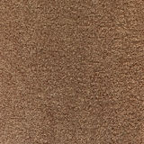 Fragment of brown terry  towels. Stock Images
