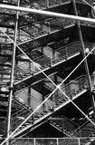 Fragment building of Centre Georges Pompidou . Royalty Free Stock Photos