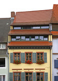 Fragment of building in Freiburg im Breisgau. Germany Stock Images