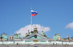 Fragment of building of the Hermitage Royalty Free Stock Photos