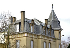 Fragment of building Luxembourg city. Luxembourg Stock Photos