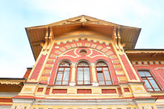 Fragment of building railway station. Stock Photography