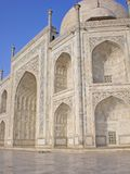 Fragment of a building of Taj Mahal, India. Royalty Free Stock Image