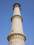 Fragment of a building of Taj Mahal, India. Royalty Free Stock Images