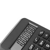 A fragment of a calculator Stock Photos