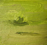 A fragment of the canvas with oil paints. Backgrou Royalty Free Stock Photography