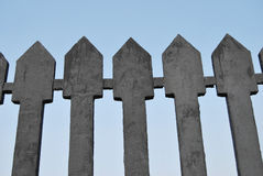 Fragment of Cast Iron Fence Royalty Free Stock Photos