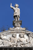 Fragment of Castel Nuovo's triumphal arch Royalty Free Stock Photo