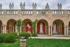 Castle in Hungary Royalty Free Stock Image