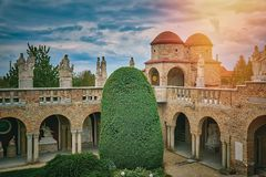 Castle in Hungary Royalty Free Stock Images