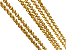 A fragment of a chain Stock Photo