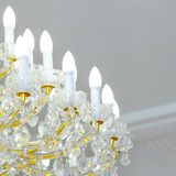 Fragment chandeliers Royalty Free Stock Photo