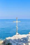 Fragment of Chapel of St. Nicholas at Cape Kaliakra. Bulgaria Stock Images