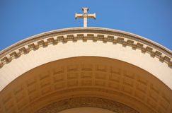 Fragment of christian architecture Stock Image