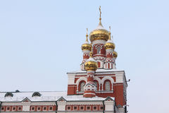 Fragment of Church of the Ascension, Perm, Russia Royalty Free Stock Photography