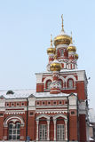 Fragment of Church of the Ascension, Perm, Russia Royalty Free Stock Photo