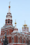 Fragment of Church of the Ascension, Perm,Russia Stock Photography