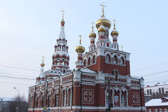Fragment of Church of the Ascension, Perm, Russia Stock Photography