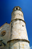 Fragment of the church on the island of Our Lady of the Rock Royalty Free Stock Photography
