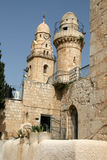 Fragment of Church On Mount Zion,Jerusalem. Church Of Dormition On Mount Zion,Jerusalem, Israel Royalty Free Stock Images