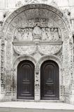 Fragment of the Church of Nossa Senhora da Conceicao Velha in Lisbon Stock Photography