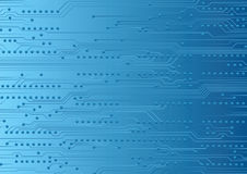 Fragment of circuit board Royalty Free Stock Images
