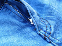 Fragment classic fashioned jeans Royalty Free Stock Images