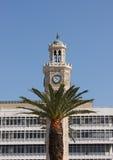 Fragment of Clock Tower (Saat Kulesi) Royalty Free Stock Photography