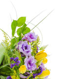 Fragment of colorful bouquet Stock Photo