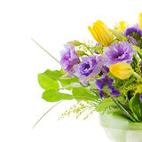 Fragment of colorful bouquet Royalty Free Stock Photo