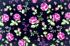 Fragment of colorful retro tapestry textile Royalty Free Stock Photos