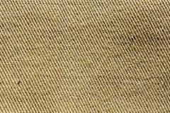 Fragment of cotton khaki. stock images