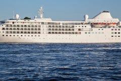 A fragment of a cruise ship Stock Photos