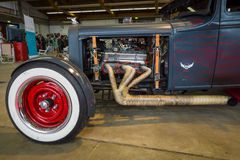 Fragment of the custom Hot Rod Royalty Free Stock Photo