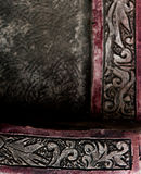 Fragment découpé de décoration d'ornement Photos libres de droits