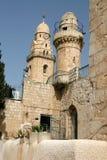 Fragment d'église sur le support Zion, Jérusalem Images libres de droits