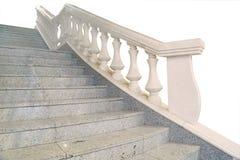 Fragment d'un escalier de marbre photo stock